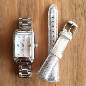 Michele Urban Diamond Ladies Watch